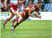 Danny Brough action