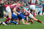 Giants v Saints (h) 2014 cup-tie Robinson and Murphy defend