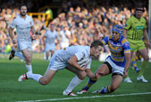 Leeds v Giants 12-6-14 Kyle Wood scores first try