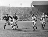 Hudd v Saints Cup Final 1953- Henderson, Pepperell
